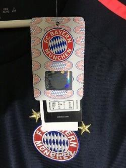 Adidas XL 2017-2018 Robben Bayern Munich Away Shirt Jersey Camiseta Kit NWT