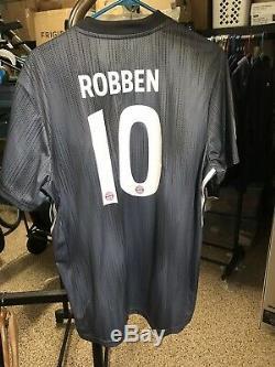 natural espejo cobre  Adidas Xl 2018-2019 Robben Bayern Munich Away Shirt Jersey ...