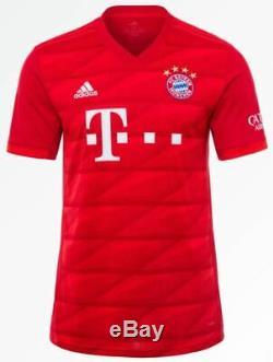 Alphonso Davies Bayern Munich home jersey 19/20 with patch