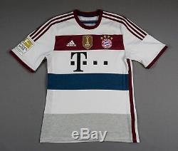 Arjen Robben Bayern Munich FCB 2014/15 M Away Shirt Jersey Trikot Camiseta