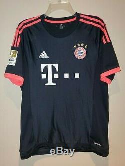 Arjen Robben FC Bayern Munchen Adidas Soccer Jersey 2014/2015 Mens Medium Futbol