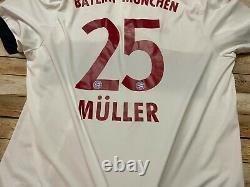 Authentic ADIDAS BAYERN MUNICH Jersey THOMAS MULLER 2015-16 Germany Soccer 2XL