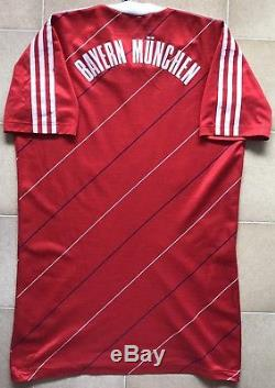 Authentic Adidas Bayern Munich 84/85 Home Jersey. Mens L, Excellent Condition