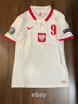 Authentic Nike Vaporknit Poland Bayern Munchen Lewandowski Shirt Jersey M Medium