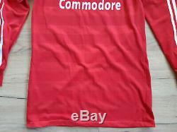 BAYERN MUNICH! 1984-86! Shirt jersey trikot camiseta maglia kit! 5/6! M adult@