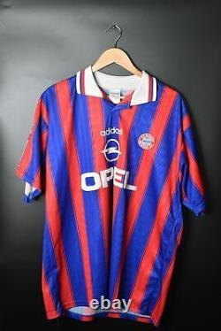 BAYERN MUNICH 1996-1997 ORIGINAL JERSEY Size XL (VERY GOOD)