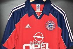 BAYERN MUNICH 2001-2002 ORIGINAL JERSEY Size M (VERY GOOD)