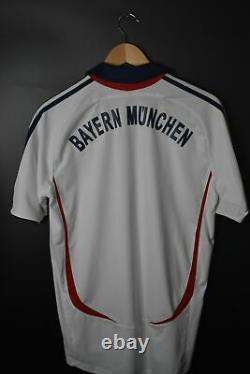 BAYERN MUNICH 2006 AWAY OFFICIAL JERSEY Size M (EXCELLENT)