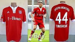 Bayern Munich 2009 Tymoshchuk #44 Football Soccer Shirt Jersey Trikot Adidas L