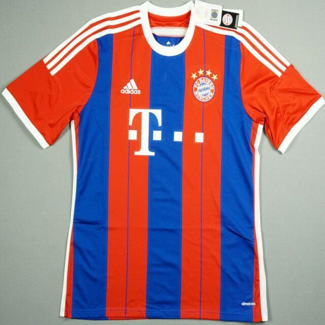 Bayern Munich 2014/15 L Home Football Shirt Jersey Trikot Pep Guardiola Bnwt