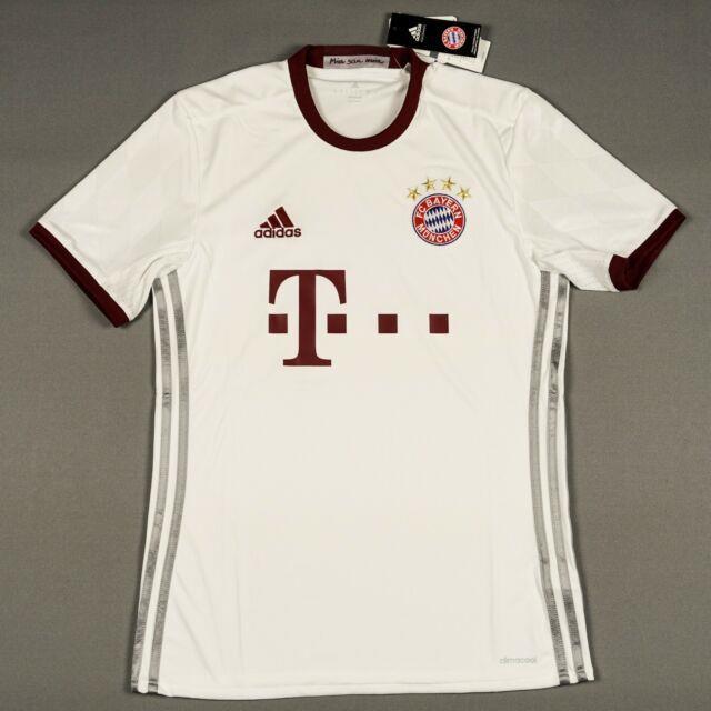 Bayern Munich 2016/17 S Small Away Jersey Shirt Camiseta Trikot Brand New Bnwt