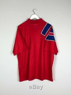BAYERN MUNICH 91/93 Home Football Shirt (XL) Soccer Jersey Adidas