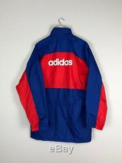 BAYERN MUNICH 93/95 Adidas Football Rain Jacket (XL) Soccer Training Jersey