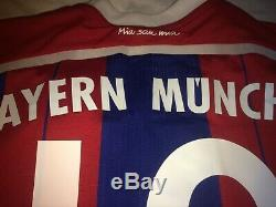 BAYERN MUNICH HOME JERSEY POKAL 2013-14, #19 Mario Götze