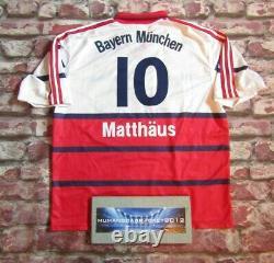 BAYERN MUNICH Jersey FOOTBALL SHIRT germany MATTHAHUS 1997 1998 vintage XL