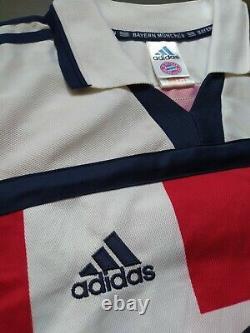 BAYERN MUNICH MÜNCHEN 2000/01 Retro Jersey Shirt Trikot Bundesliga EFFENBERG #11