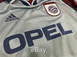 BAYERN MUNICH Uefa 1998/99 shirt MATTHAUS #10 Germany-Inter Milan-Jersey (L)