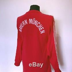 BAYERN MUNICH Vintage Original adidas L/S Football Shirt Jersey 1989/91 (M)