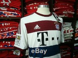 BAYERN MUNICH away 2014/15 shirt ALONSO #3 Real Madrid-Liverpool-Jersey (M)