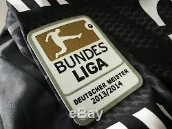 BAYERN MUNICH gk 2014/15 shirt NEUER #1 Goalkeeper-Germany-Trikot-Jersey (L)