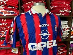 BAYERN MUNICH home 1995/97 shirt KLINSMANN #18-Tottenham-Germany-Jersey-Trikot