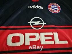 BAYERN MUNICH home 1997/99 shirt MATTHAUS #10 Germany-Inter Milan-Jersey (M)