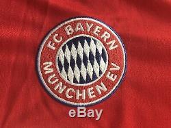 BNWT Adidas FC Bayern Munich Munchen 1982-83 Home Replica Jersey, Mens Size 2XL