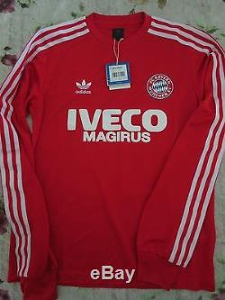 cheaper 0c2b2 05b20 Bnwt Bayern Munich Adidas Originals Retro Soccer Shirt ...