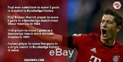 BNWT Robert LEWANDOWSKI 15-16 Bayern Munich #9 Jersey Shirt POLAND Munchen