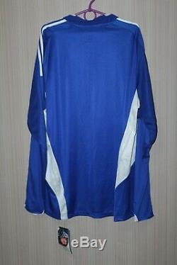 BNWT Schalke 04 2008-2010 Player Issue Long Sleeve Adidas Shirt Jersey Trikot