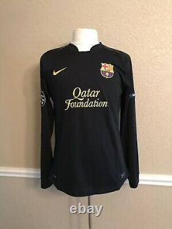 Barcelona Messi Lg CL Argentina Player Issue Nike Football Shirt Soccer jersey