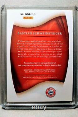 Bastian Schweinsteiger 2020 Panini Immaculate Acetate Jersey Auto /25 Bayern