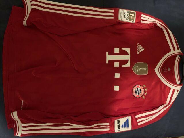 Bastian Schweinsteiger Bayern Munich Home 2013/2014 Long Sleeve Jersey