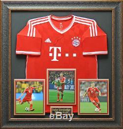 Bastian Schweinsteiger Bayern Munich Signed Jersey Display
