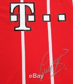 Bastian Schweinsteiger Signed Bayern Munich Soccer Jersey withCOA Germany XL Red