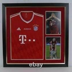 Bastian Schweinsteiger Signed & FRAMED Bayern MUNICH JERSEY AFTAL COA (A)