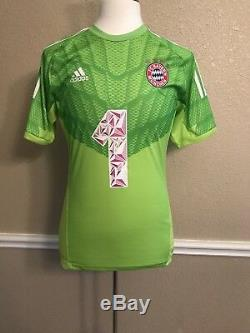 Bayer Munich Germany Neuer Era Player Issue Adizero Football jersey