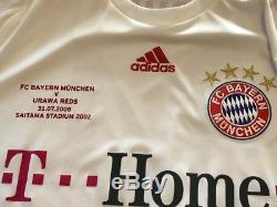 Bayern MUNCHEN FC v Urawa Reds match worn jersey RARE