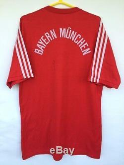 Bayern Munchen 1989 1990 1991 Adidas Home Football Soccer Shirt Jersey