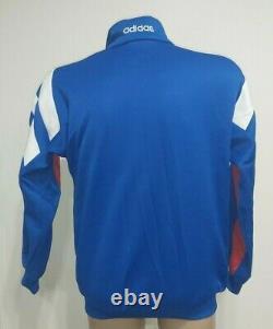 Bayern Munchen 1990's Training Football Jacket Jersey Adidas Size S Adult