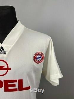 Bayern Munchen 1991 1993 Away Shirt Football Soccer Jersey Adidas Mens Size M