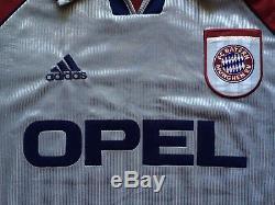 Bayern Munchen 1998 1999 Champions League Adidas Football Shirt Jersey