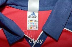 Bayern Munchen 1999/2000 Home Football Shirt Jersey Adidas #9 Elber XL Adult