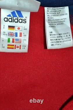 Bayern Munchen 2000/2001 Training Football Jacket Jersey Adidas Size L Adult