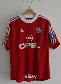Bayern Munchen 2001 shirt trikot maglia camiseta jersey Niko Kovac signiert
