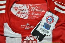 Bayern Munchen 2010/2011 Home Football Shirt Jersey Adidas Size XL Adult Bnwt