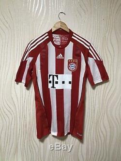 Bayern Munchen 2010 2011 Home Football Soccer Shirt Jersey Techfit Adidas P95798