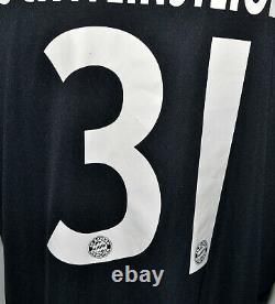 Bayern Munchen 2010/2011 Third Football Shirt Jersey Adidas Schweinsteiger #31