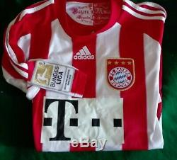 Bayern Munchen 2010/2011 Tymoshchuk football Trikot Shirt Munich adidas jersey