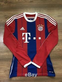 Bayern Munchen 2014/2015 Home Football Shirt Soccer Jersey Adidas #25 Müller